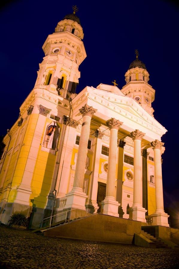 ελληνικό uzhgorod πόλεων καθεδ& στοκ φωτογραφία με δικαίωμα ελεύθερης χρήσης