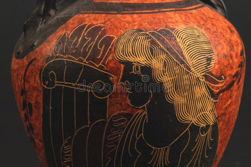 Download ελληνικό vase στοκ εικόνες. εικόνα από σκάφος, καλλυντικά - 60690