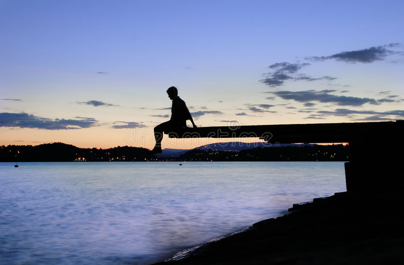 ελλιμενίστε dusk στοκ φωτογραφία με δικαίωμα ελεύθερης χρήσης
