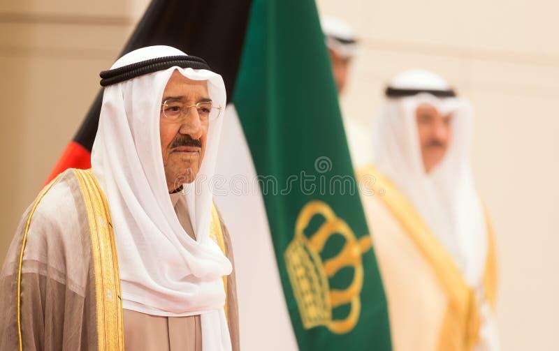 Εμίρης του Κουβέιτ Sabah Al-Ahmad Al-Jaber Al-Sabah στοκ φωτογραφία