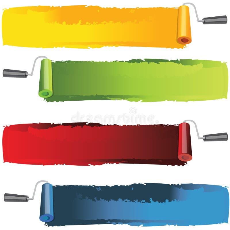 εμβλήματα που χρωματίζον&t ελεύθερη απεικόνιση δικαιώματος