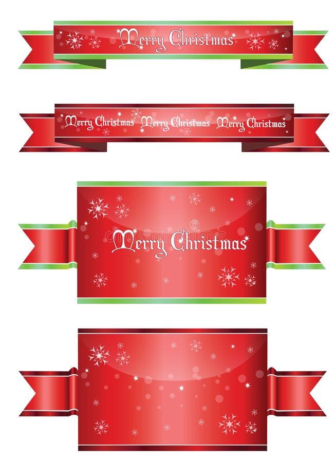 Εμβλήματα Χριστουγέννων απεικόνιση αποθεμάτων