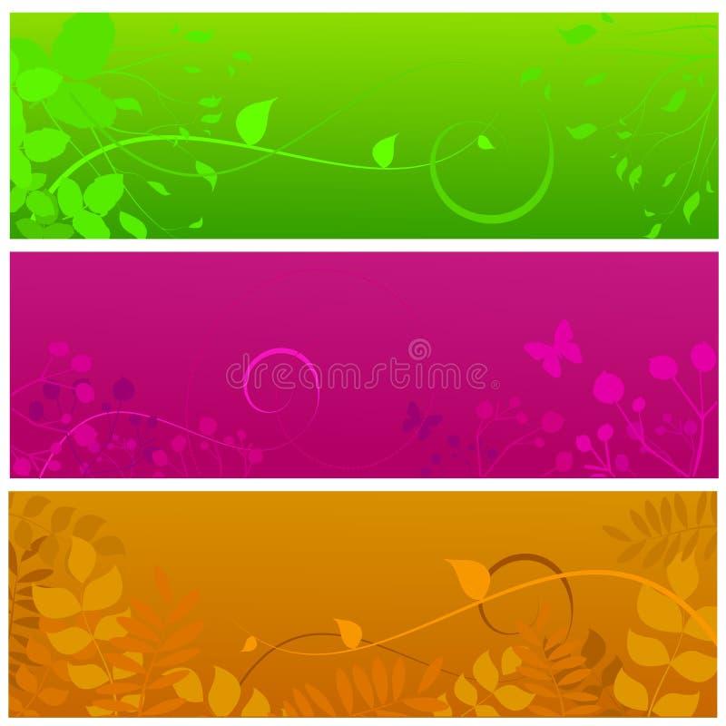 εμβλήματα floral ελεύθερη απεικόνιση δικαιώματος