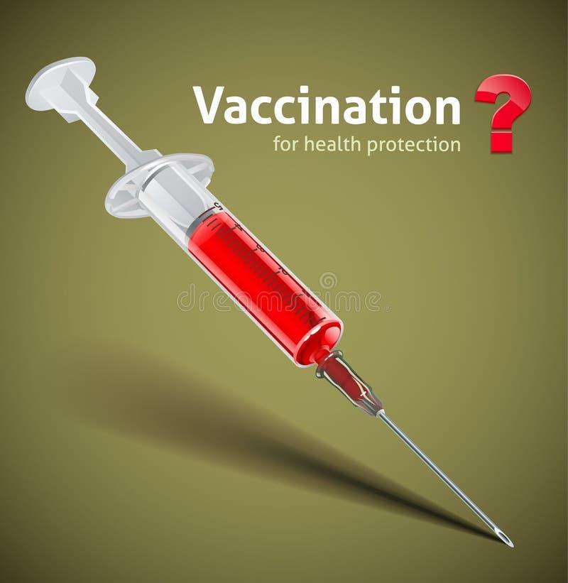 εμβόλιο συρίγγων ελεύθερη απεικόνιση δικαιώματος