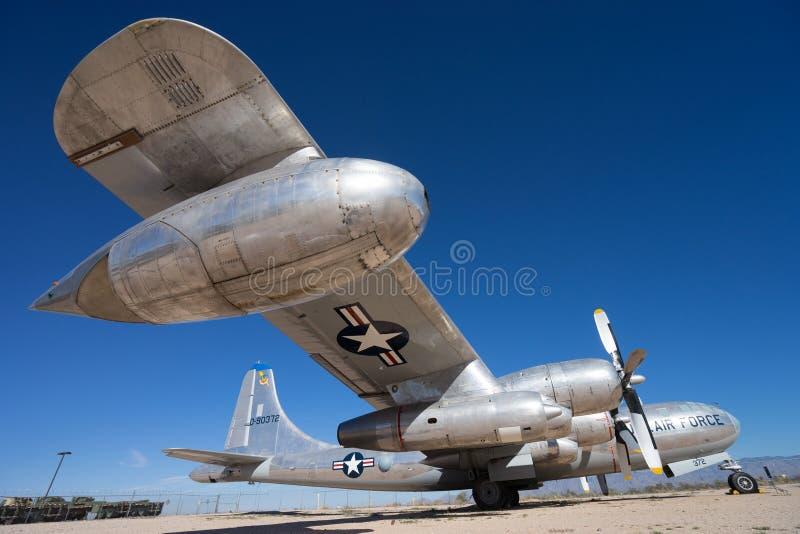 Εμείς εκλεκτής ποιότητας στρατιωτικό αεροπλάνο πολεμικής αεροπορίας στοκ φωτογραφίες με δικαίωμα ελεύθερης χρήσης