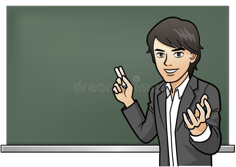 Εμπαθές μάθημα δασκάλων Cramschool ελεύθερη απεικόνιση δικαιώματος