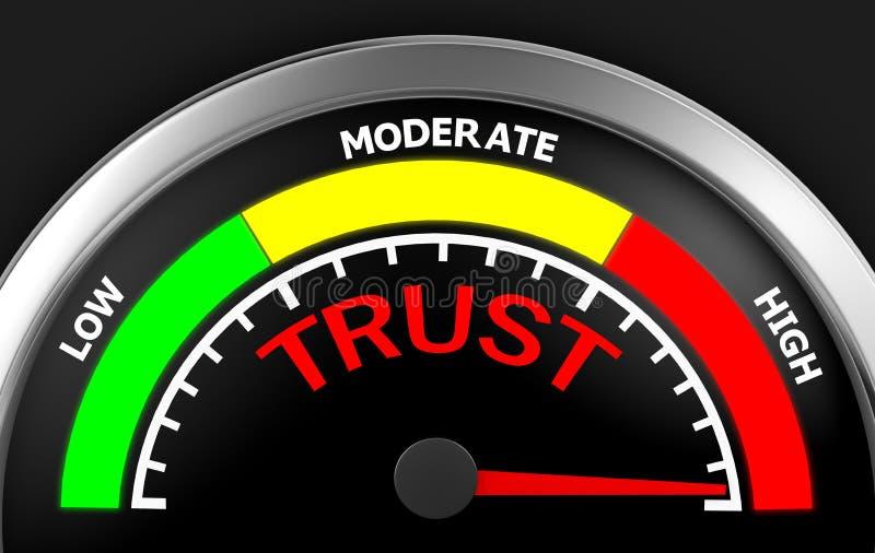 εμπιστοσύνη ελεύθερη απεικόνιση δικαιώματος
