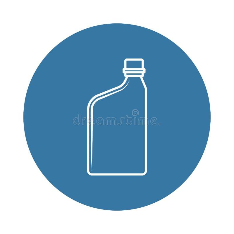 εμπορευματοκιβώτιο για το εικονίδιο πετρελαίου μηχανών Στοιχείο των εικονιδίων μπουκαλιών για την κινητούς έννοια και τον Ιστό ap ελεύθερη απεικόνιση δικαιώματος