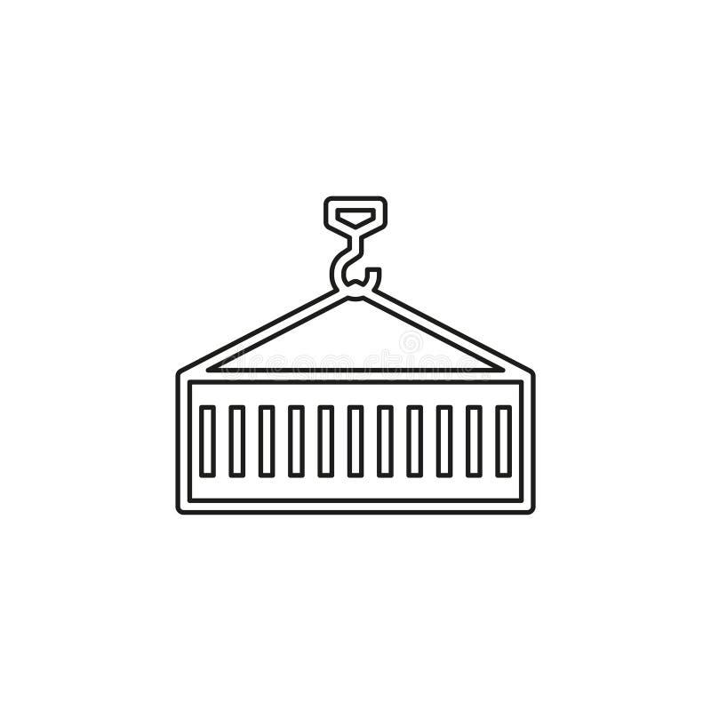 Εμπορευματοκιβώτιο λογιστικό - μεταφορικό κιβώτιο ελεύθερη απεικόνιση δικαιώματος