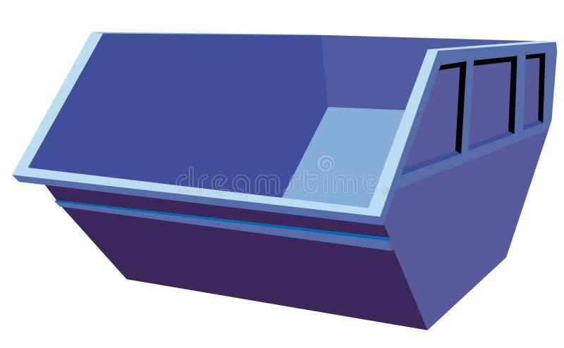 εμπορευματοκιβώτιο διανυσματική απεικόνιση