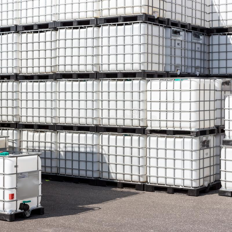 Εμπορευματοκιβώτιο Ibc στοκ εικόνες με δικαίωμα ελεύθερης χρήσης