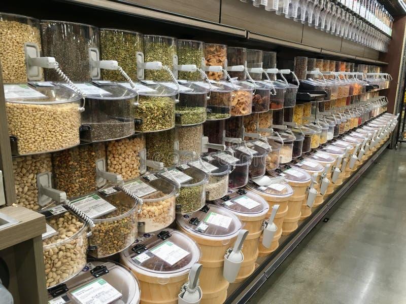 Εμπορεύματα χύδην στο Smith's, Σολτ Λέικ Σίτι, Γιούτα, Ηνωμένες Πολιτείες στοκ φωτογραφία με δικαίωμα ελεύθερης χρήσης