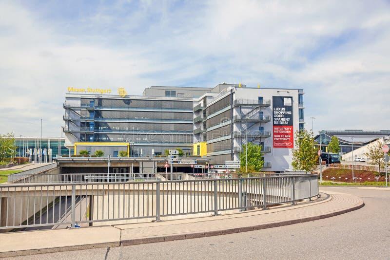 Εμπορική έκθεση Στουτγάρδη, κεντρικό κτίριο στοκ φωτογραφία με δικαίωμα ελεύθερης χρήσης