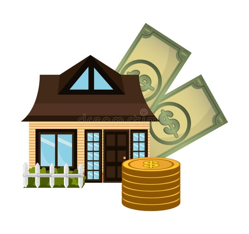 Εμπορική επένδυση ακίνητων περιουσιών απεικόνιση αποθεμάτων