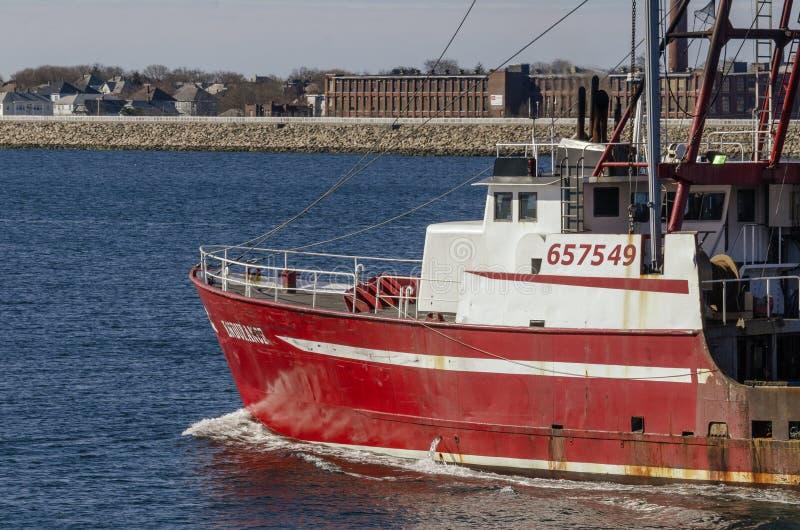 Εμπορική πηγαίνοντας αλιεία αντοχής αλιευτικών σκαφών στοκ φωτογραφία με δικαίωμα ελεύθερης χρήσης