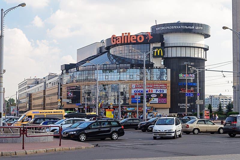 Εμπορικό κέντρο Γαλιλαίος στο Μινσκ στοκ φωτογραφίες
