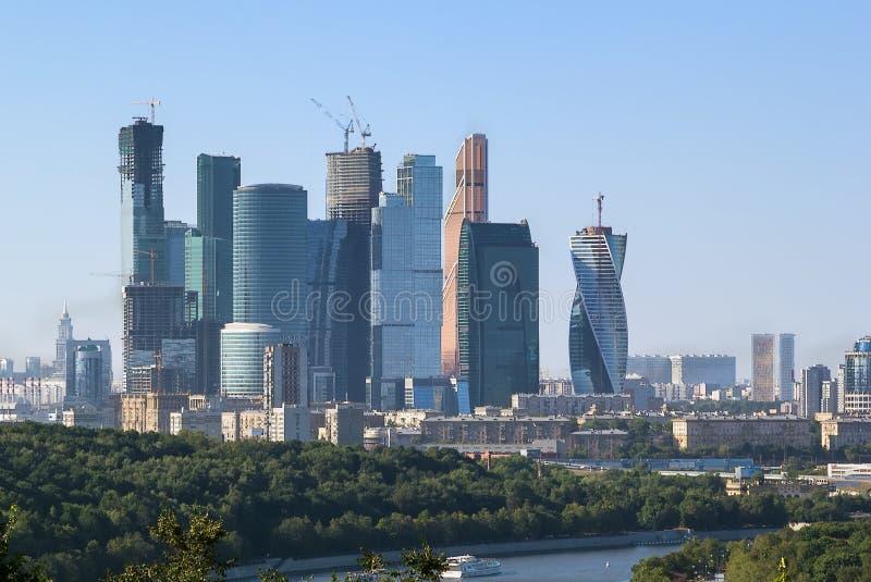 εμπορικό κέντρο διεθνής Μόσχα στοκ φωτογραφία με δικαίωμα ελεύθερης χρήσης
