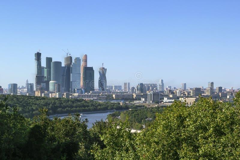 εμπορικό κέντρο διεθνής Μόσχα στοκ φωτογραφίες με δικαίωμα ελεύθερης χρήσης