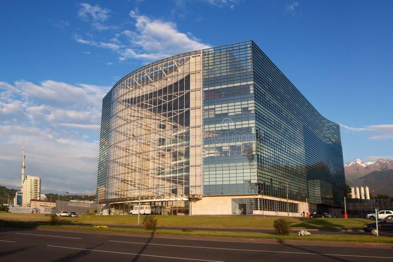 εμπορικό κέντρο της Alma Ata στοκ εικόνα