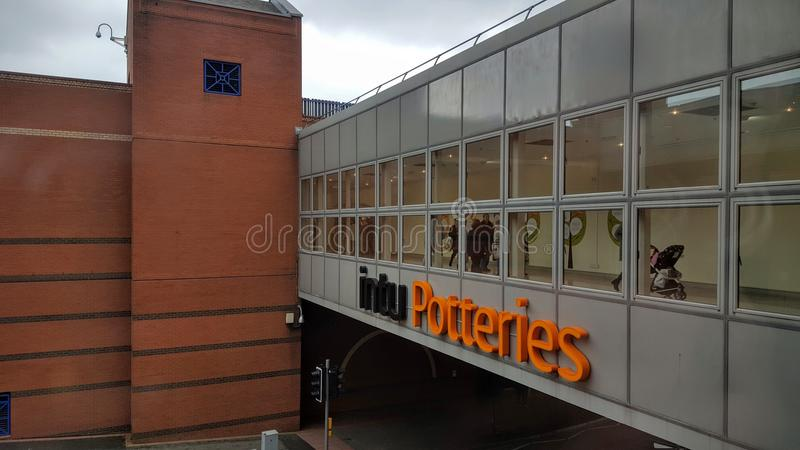 Εμπορικό κέντρο Potteries Intu στοκ εικόνες