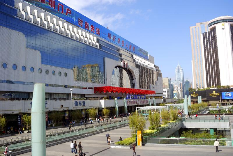 Εμπορικό κέντρο, Shenzen, Κίνα στοκ εικόνα