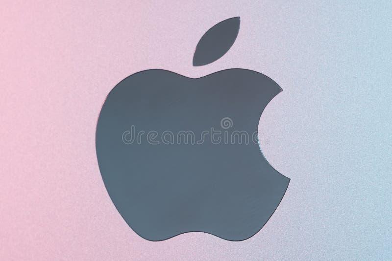 Εμπορικό σήμα υπολογιστών Macintosh λογότυπων εμπορικών σημάτων της Apple inc στοκ εικόνες
