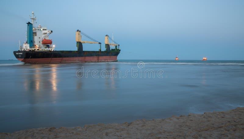 Εμπορικό σκάφος στοκ εικόνες με δικαίωμα ελεύθερης χρήσης