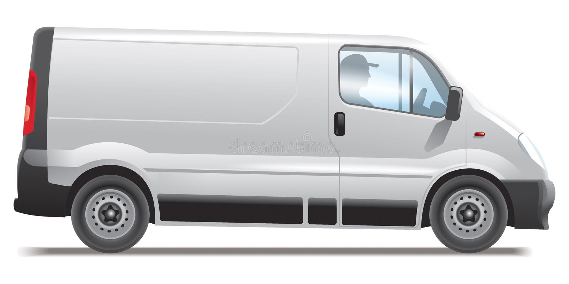 εμπορικό όχημα ελεύθερη απεικόνιση δικαιώματος
