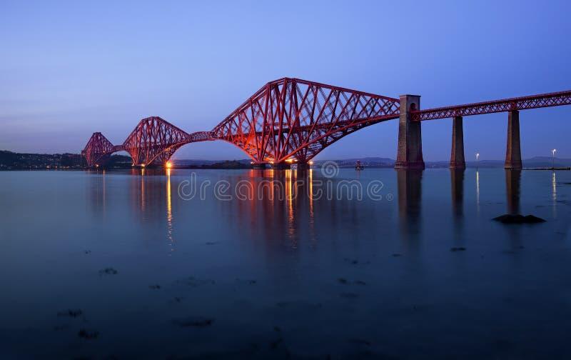 Εμπρός γεφυρώστε, Εδιμβούργο, Σκωτία στοκ εικόνες με δικαίωμα ελεύθερης χρήσης