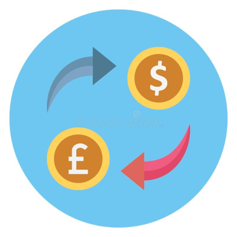 Εμπόριο, απομονωμένο ανταλλαγή διανυσματικό εικονίδιο νομίσματος που μπορεί να εκδοθεί εύκολα ελεύθερη απεικόνιση δικαιώματος