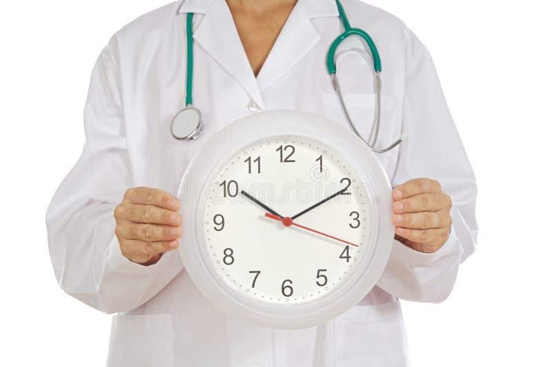 εμφάνιση γιατρών ρολογιών στοκ φωτογραφίες