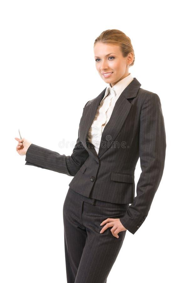 Εμφάνιση επιχειρηματία, που απομονώνεται στοκ εικόνες