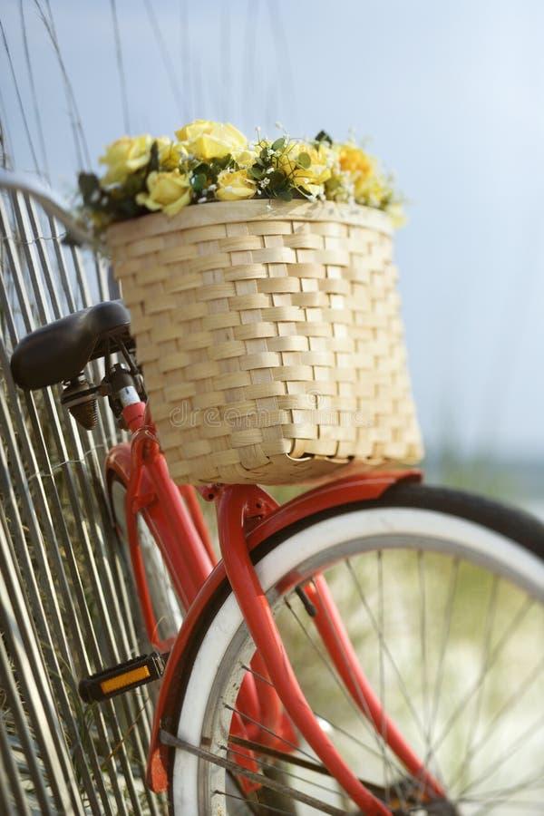 ενάντια στην κλίση φραγών ποδηλάτων στοκ φωτογραφία με δικαίωμα ελεύθερης χρήσης