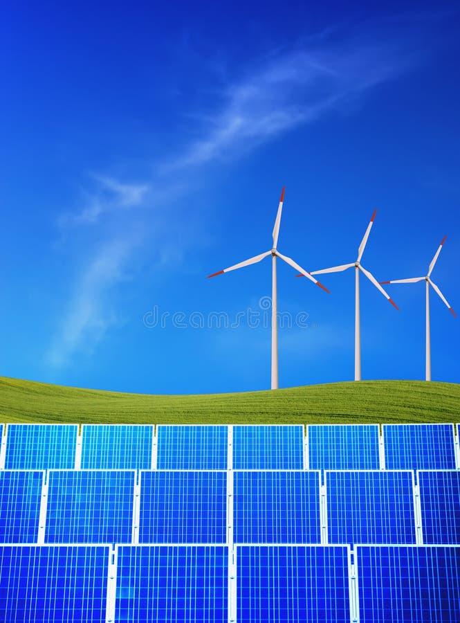ενέργεια ανανεώσιμη στοκ φωτογραφίες