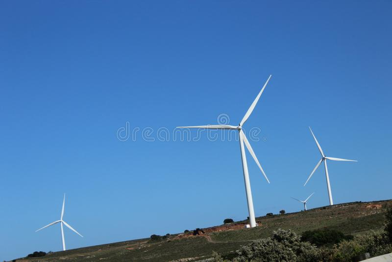 ενέργεια ανανεώσιμη στοκ εικόνα