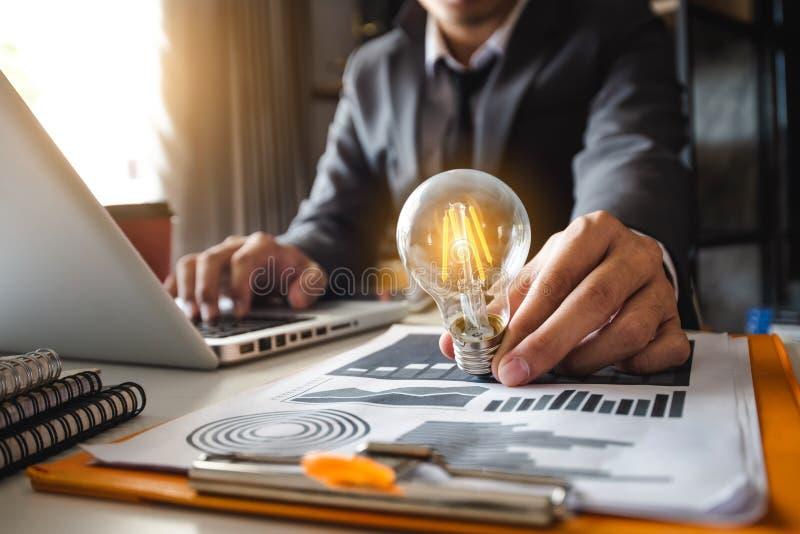ενέργεια αποταμίευσης ιδέας και έννοια χρηματοδότησης λογιστικής στοκ εικόνες με δικαίωμα ελεύθερης χρήσης