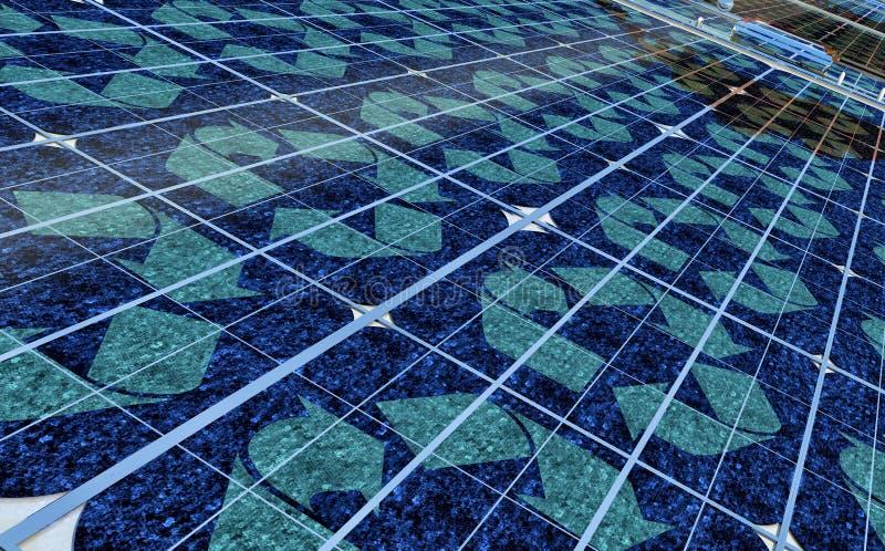 ενέργεια βιώσιμη διανυσματική απεικόνιση