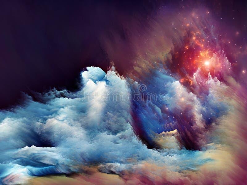 Ενέργεια του ονείρου διανυσματική απεικόνιση
