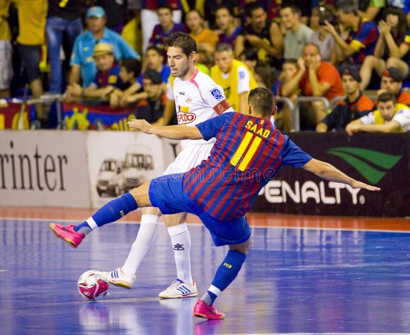 ενέργεια futsal στοκ εικόνα με δικαίωμα ελεύθερης χρήσης