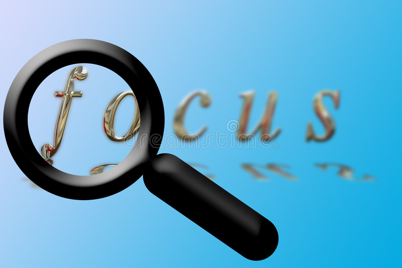 ενίσχυση γυαλιού εστία&sigm απεικόνιση αποθεμάτων