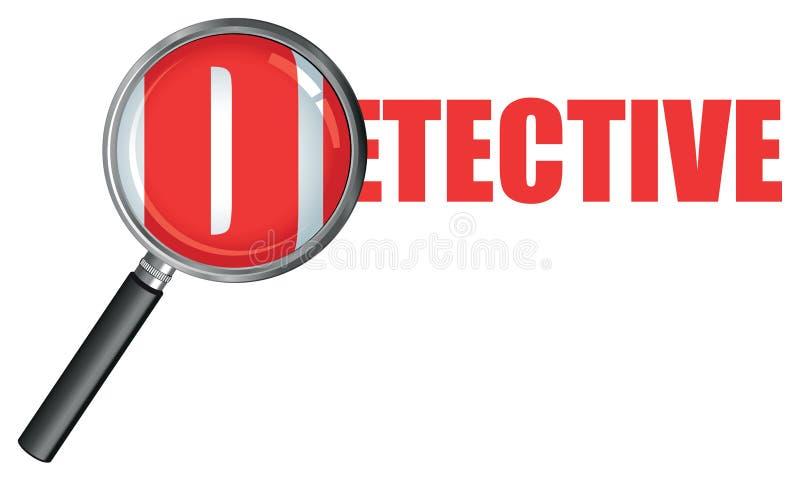 ενίσχυση γυαλιού ιδιωτ&io διανυσματική απεικόνιση