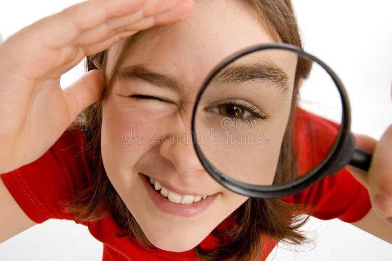 ενίσχυση γυαλιού στοκ φωτογραφία