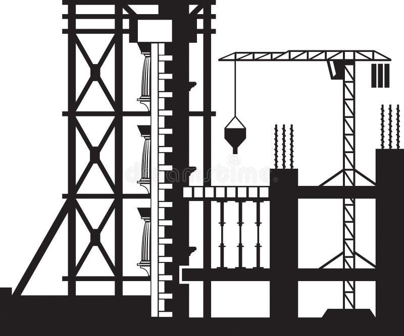 Ενίσχυση των προσόψεων των κτηρίων απεικόνιση αποθεμάτων