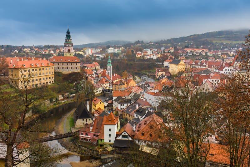 Εναέρια άποψη πέρα από την παλαιά πόλη στην Πράγα, Δημοκρατία της Τσεχίας στοκ φωτογραφία με δικαίωμα ελεύθερης χρήσης