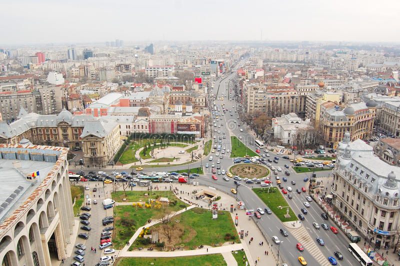 Βουκουρέστι, Ρουμανία στοκ φωτογραφίες