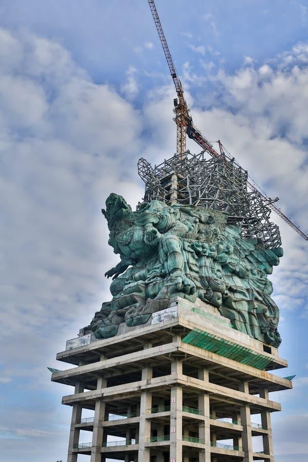 Εναέρια άποψη του αγάλματος Garuda Wisnu Kencana GWK, Μπαλί στοκ φωτογραφίες με δικαίωμα ελεύθερης χρήσης