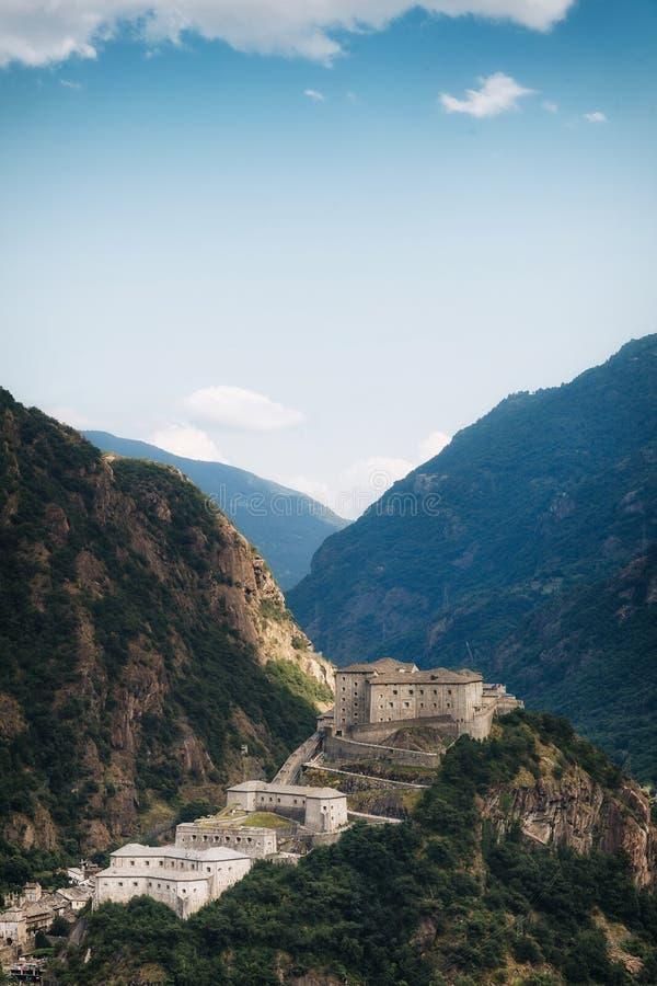 Εναέρια άποψη του κάστρου του βάρδου στοκ φωτογραφία
