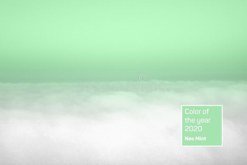 Εναέρια άποψη του πανοραμικού οριζόντιου σαφούς ουρανού επάνω από τα σύννεφα στοκ φωτογραφία με δικαίωμα ελεύθερης χρήσης