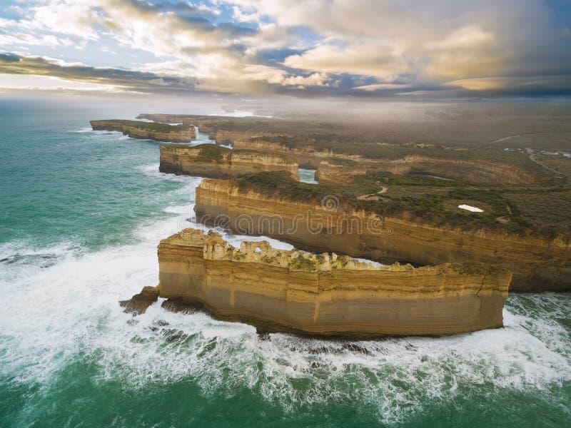 Εναέρια άποψη του σχηματισμού βράχου Razorback στοκ εικόνες