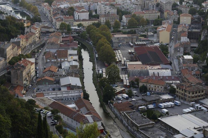 Εναέρια άποψη του Rijeka, Κροατία στοκ εικόνες με δικαίωμα ελεύθερης χρήσης